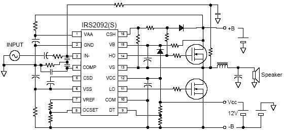 ultimate sounded class d for diy without custom made ic's like, wiring diagram